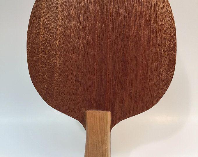 Walnut <b>Table Tennis Racket</b> with Maple Handle   Sports   Walnut ...