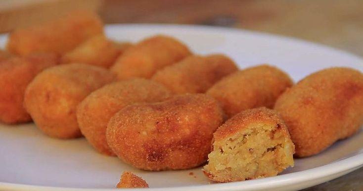 Croquetas de tortilla de patata