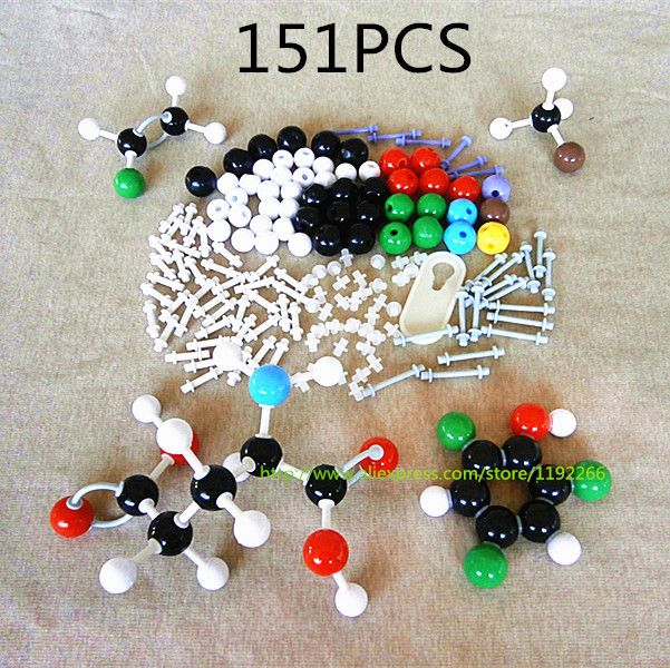 organic chemistry model kit molecular biology new high LZ-23151 molecules structure models set for teacher student free shipping