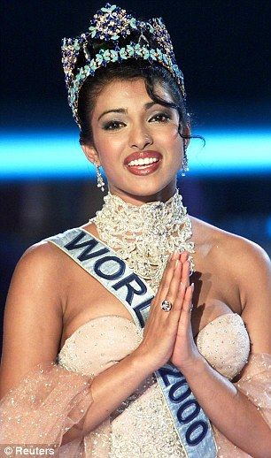 INDIA'S FIFTH MISS WORLD(2000)-PRIYANKA CHOPRA....