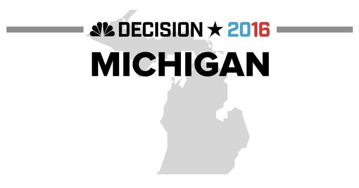 Presidential election results from the 2016 Michigan Democratic Primary and Michigan Republican Primary on March 8