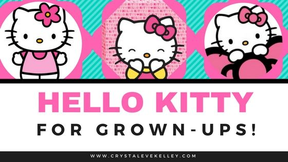 #hello kitty #cute Hello Kitty Products for Adults! Hello Kitty Wine! Hello Kitty Face Mask. Cute Adorable Products from Crystal Eve website.