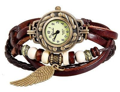 Women's Fashionable Analog Watch - With a Stylish Strap (Brown)