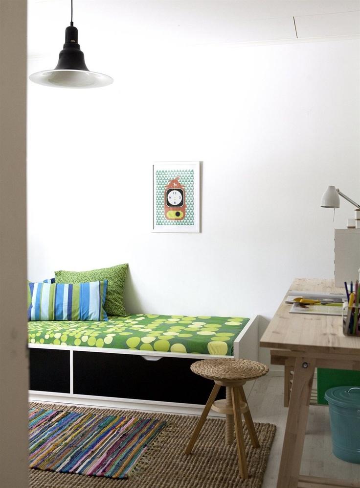 ODDA letto contenitore | IKEA Magazine 10/2012