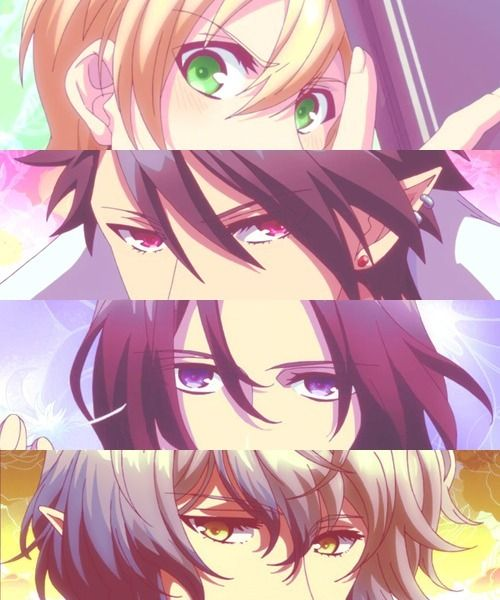 Makai Ouji: Devils and Realist ~~ The eyes have it! :: William, Dantalion, Kevin, Camio