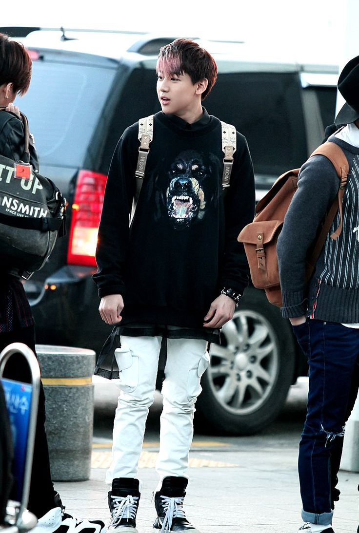 Bambam at the airport