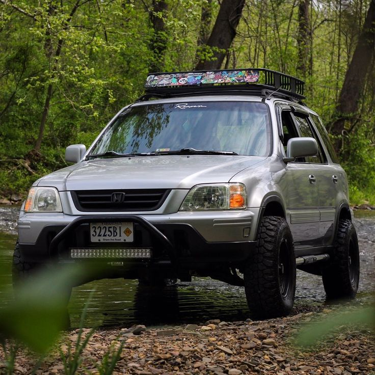 35 Best Images About Lifted Crv On Pinterest Roof Basket