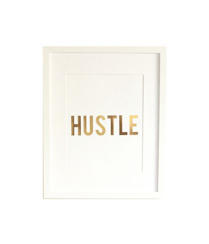 Hustle @Kelsey Myers Myers Wilson I want one of these in our apartment but I want it to say thugz