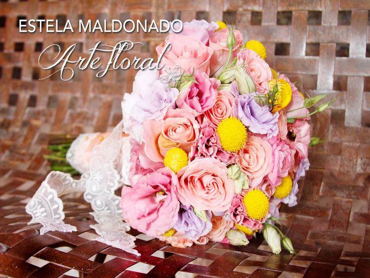 Ramo de novia en colores pasteles #vintage #bodas #bodasmexico #sanmigueldeallende #guanajuato #mexico #bouquet #wedding #romantic #bride