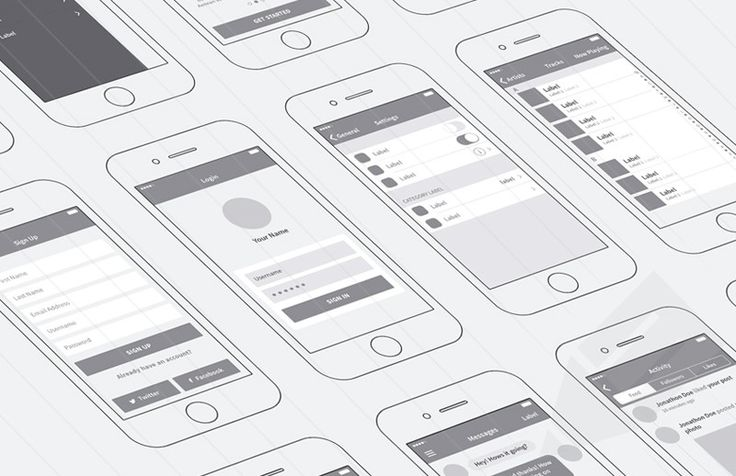 Medialoot - iPhone App Wireframing Kit