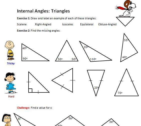 67 best images about Matika hly troj heln ky Maths – Special Segments in Triangles Worksheet