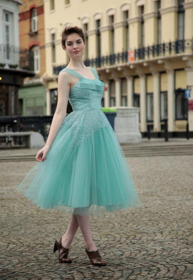 Vintage 50s Fairytale Prom Dress