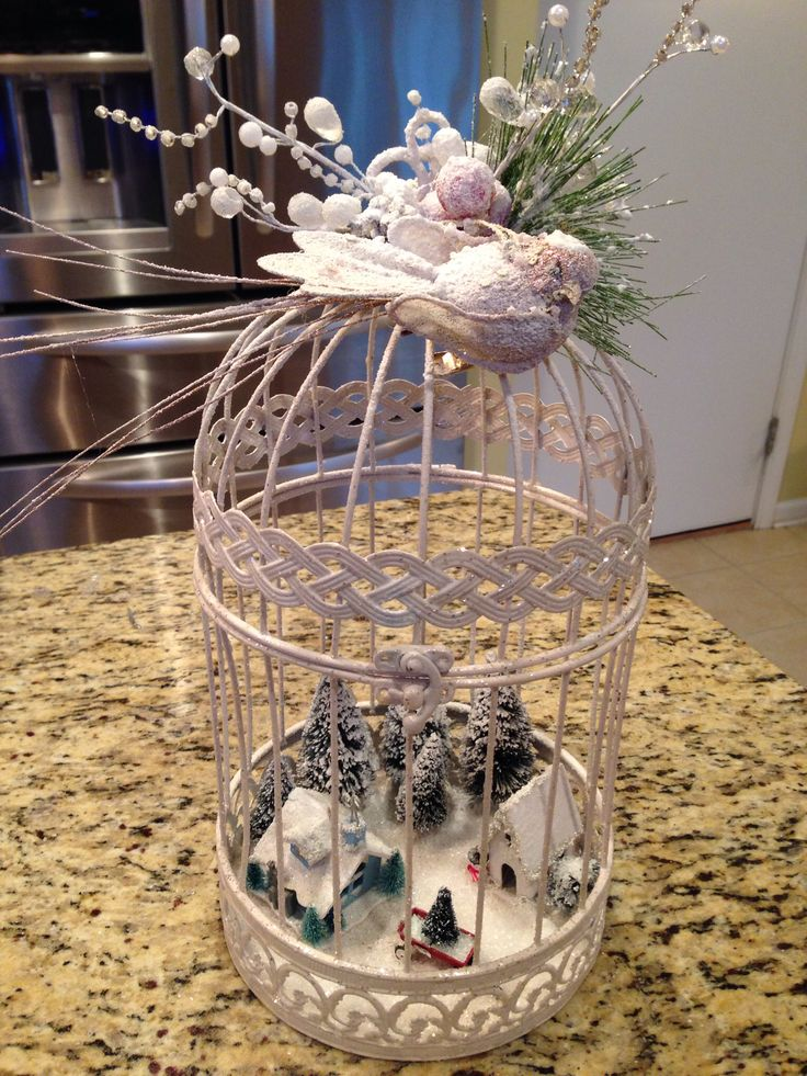 Ideas about bird cage centerpiece on pinterest