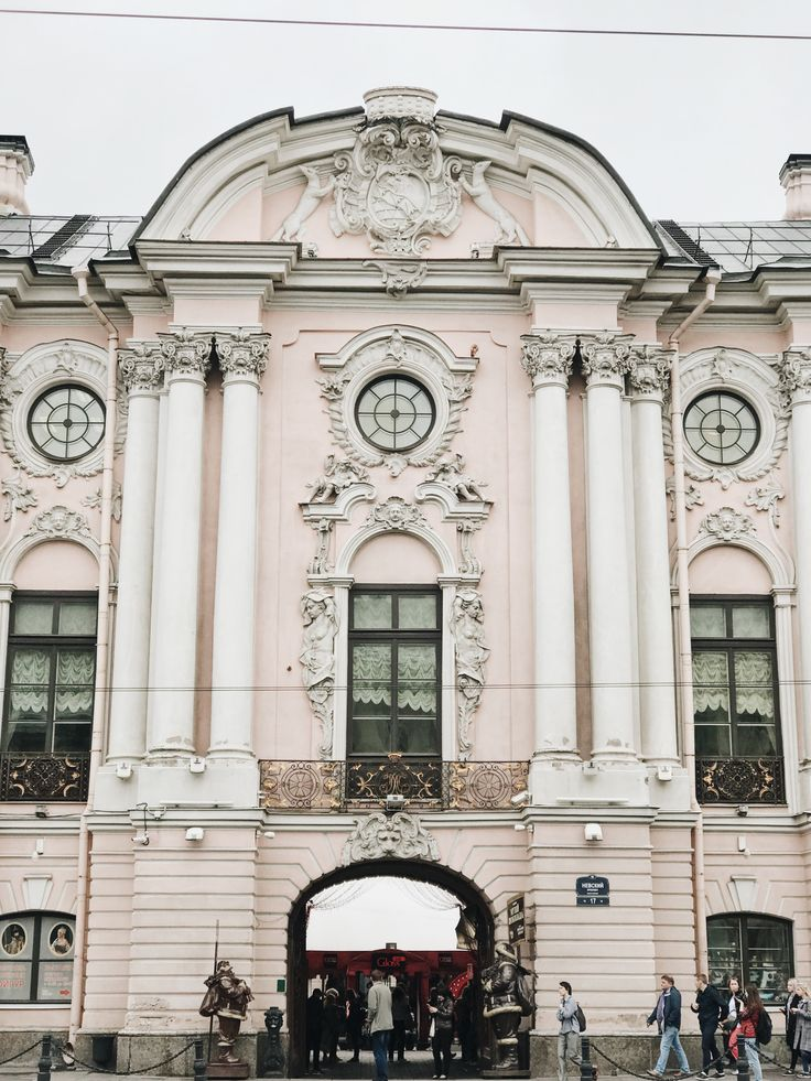 Architecture of St. Petersburg VSCO A6