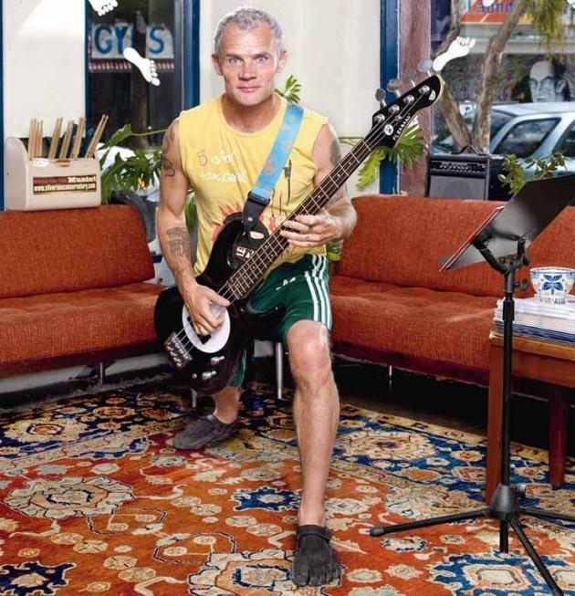 Flea: Corro senza musica