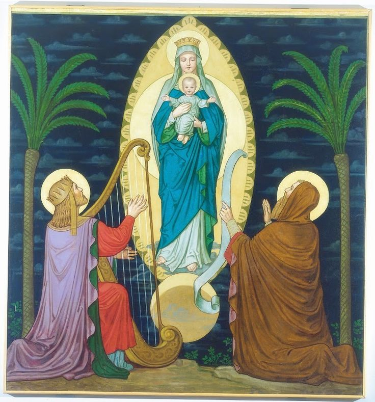 The Vision of King David and the Prophet Isaias by Fr. Bonaventure Ostendarp