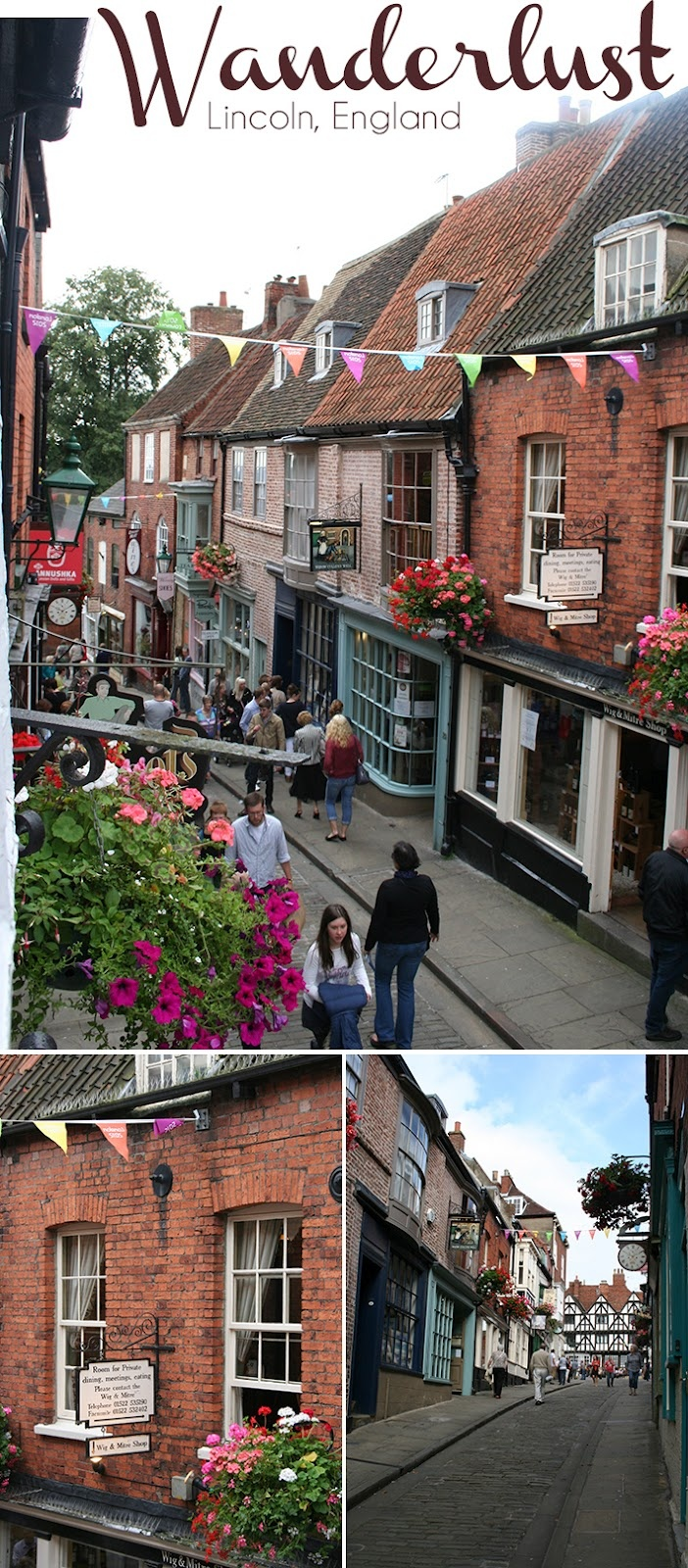 Lincoln, England - excited for a trip here.