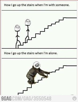 : Laughing, Stairs, Giggl, Truths, Funny Stuff, So True, Humor, Things, True Stories