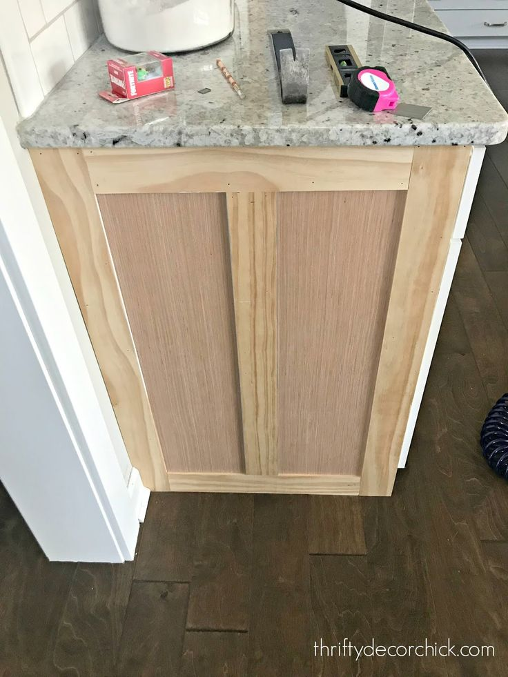 How to upgrade the end of your builder grade cabinets