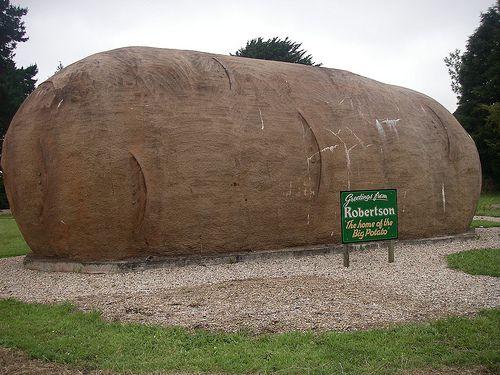 The big potato, Robertson, NSW, Australia.