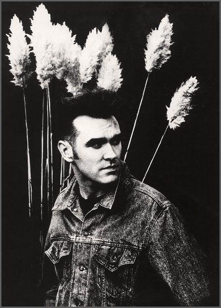 Morrissey photographed by Anton Corbijn