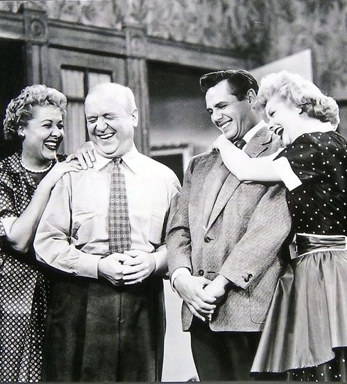 Ricky, Lucy, Fred and Ethel
