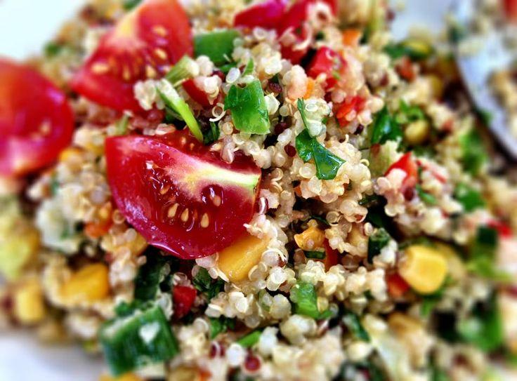 Homemade quinoa  www.chianacoronis.com