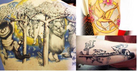 bookworm tattoos
