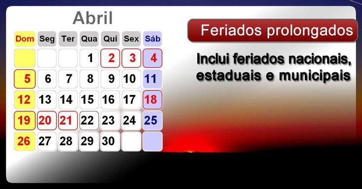 Calendário2015 com todos feriados prolongados nacionais - Brasil. Calendário2015 com feriados prolongados nacionais - Brasil e datas comemorativas e fases da lua.