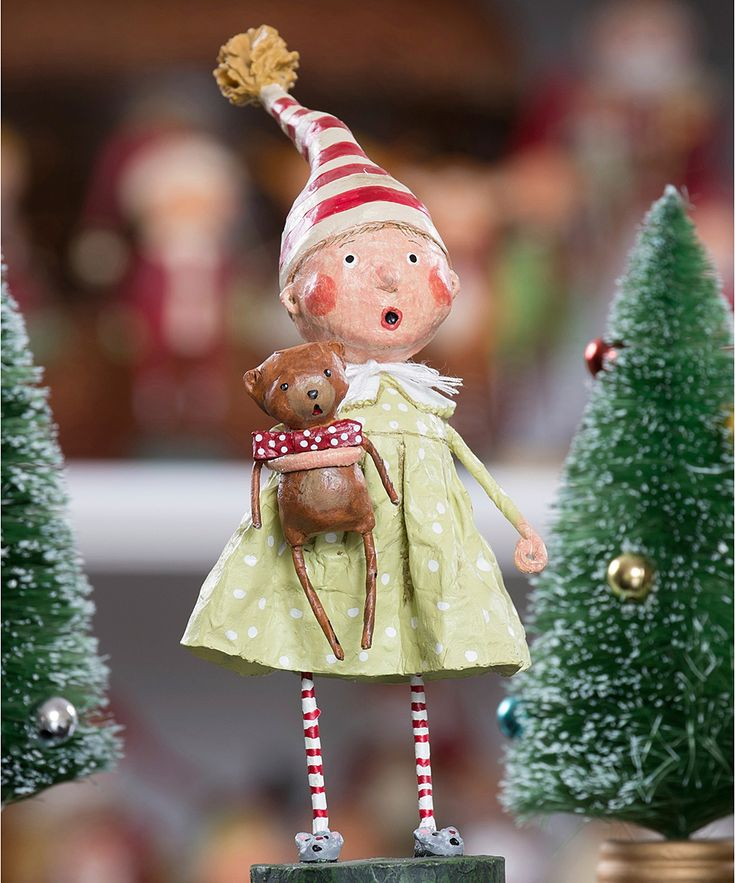 Discovering Santa Figurine