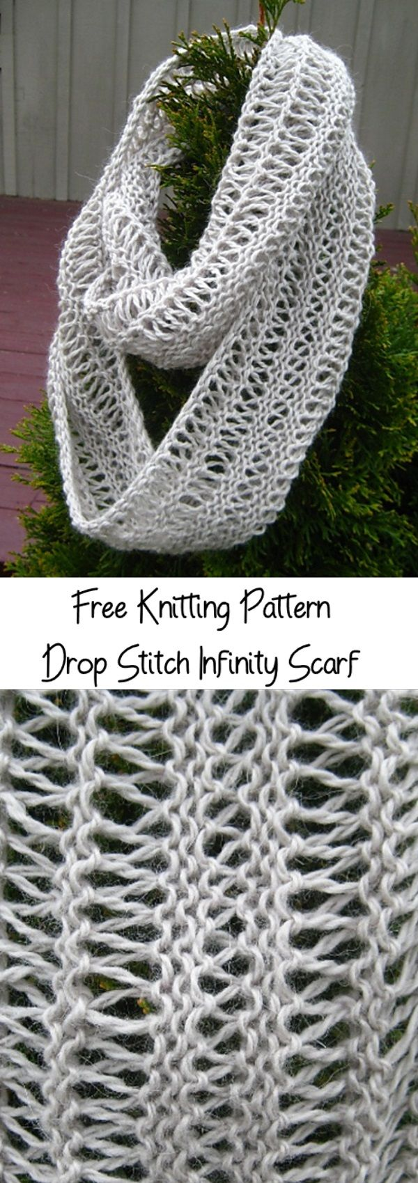 Foxy Loxy Fox Scarf Free Knitting Pattern Freeknittingpattern Scarfpattern
