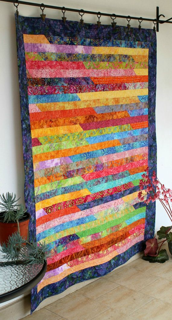 Best 25 Batik Quilts Ideas On Pinterest Stained Glass