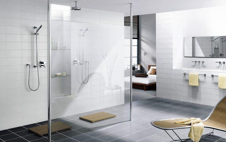 badkamer landelijk van glas - Google zoeken
