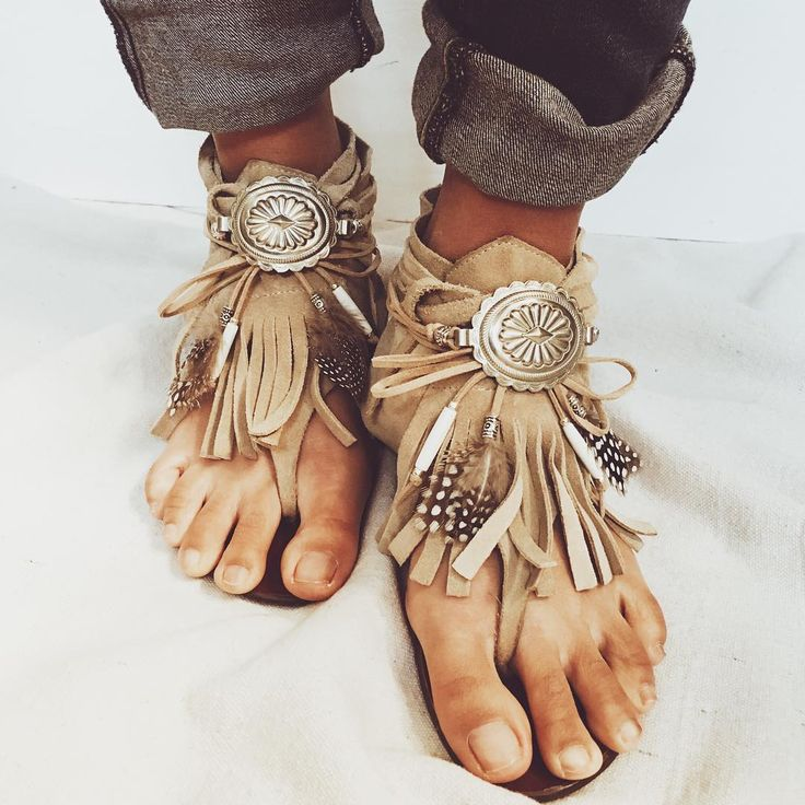 """Who's ready for a sandal season?! New concho jewels coming soon. #ecodesignproject"""