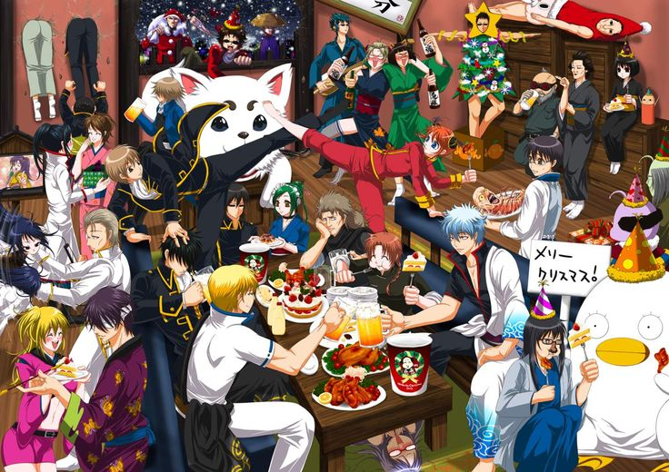 10 Christmas Scenes In Anime | Akibento Blog