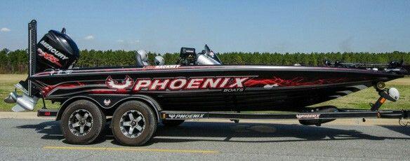 Greg Hackney's Phoenix Tournament Boat