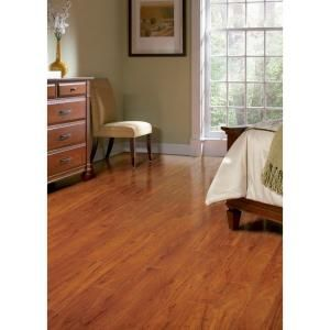 Hampton bay high gloss jatoba 8 mm thick x 5 in wide x 47 3 4 in length laminate flooring 13 - Hampton bay flooring home depot ...