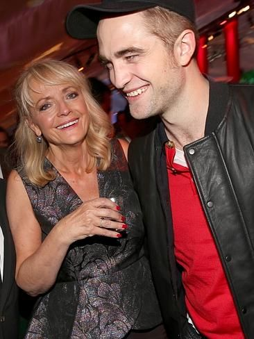 Robert Pattinson and his mum. CelebCon - Stars with their mums | News.com.au