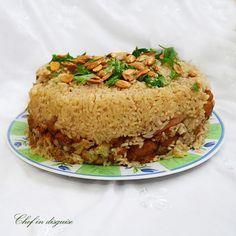 Maqluba, comida típica de Palestina
