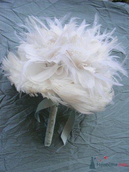 букет из перьев
