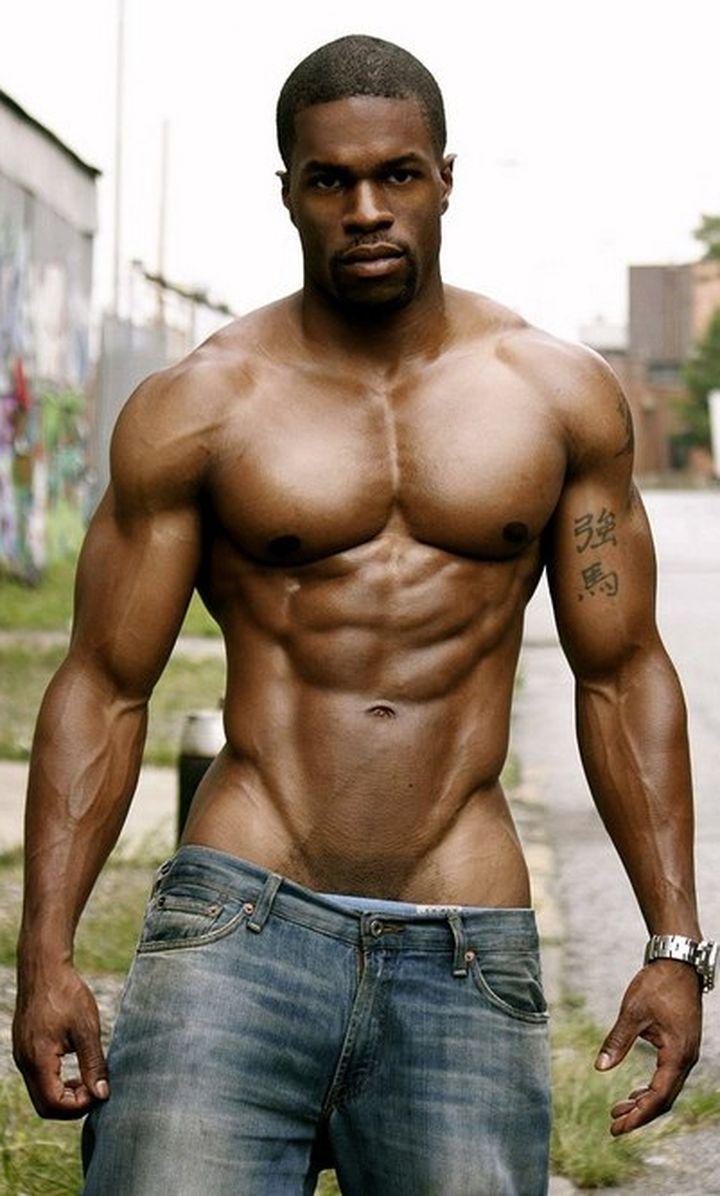 Brawny Black Guy Spunked