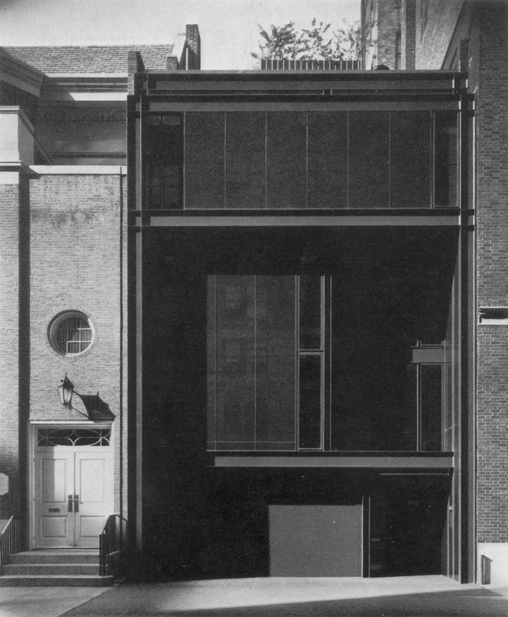 Paul Rudolph - Hirsch/Holsten House - New York, 1968. Later Halston's House #architecture #legendary