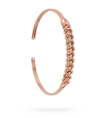 #BRACELET#925'#SILVER#PINK#GOLD#FINISH#MAXIMOS#JEWELLERY