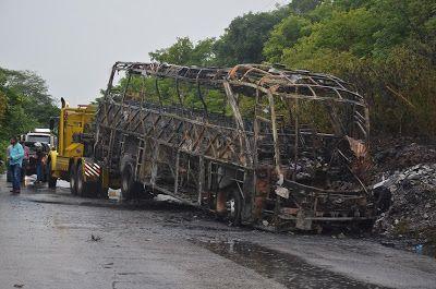Policía y Alcaldía de Albania ofrecen recompensa por información sobre conductor involucrado en accidente del bus de Brasilia