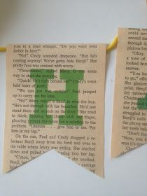 craft day is the best day.: DIY: Book Page Banner & Decorations