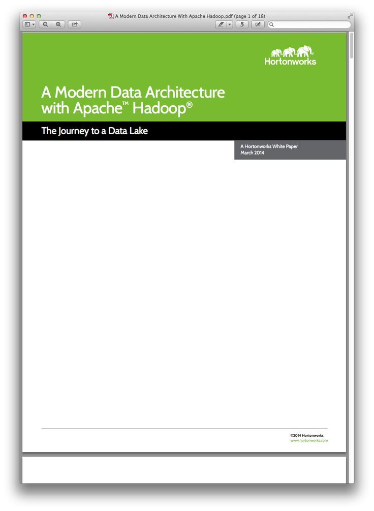 TnA Modern Data Architecture With Apache HadoopPdfPng