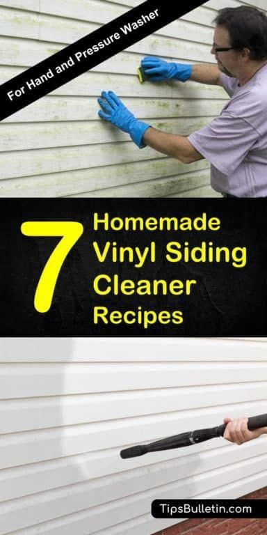Find Out How To Best Clean Your Vinyl Siding With 7