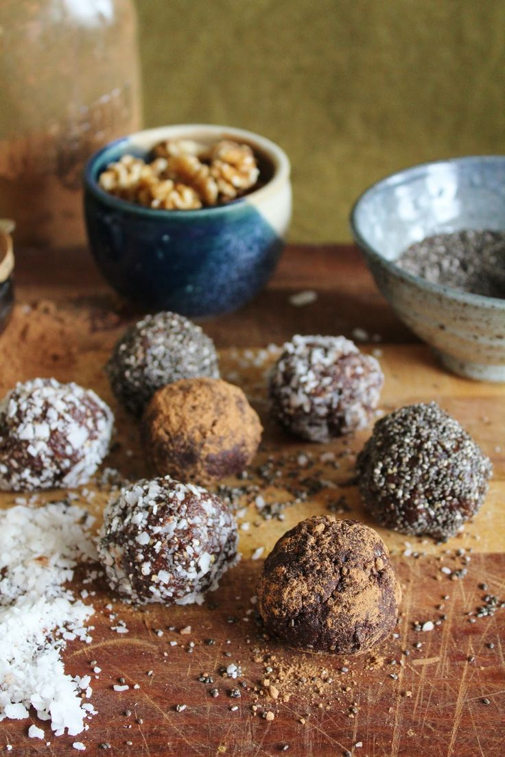 202 Best Images About Healthy Bliss Balls On Pinterest