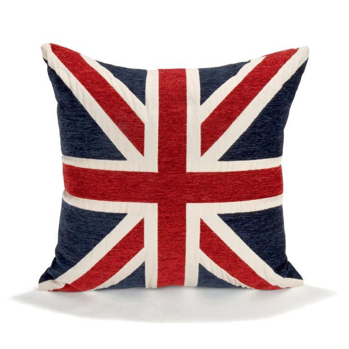 chambre d 39 ado coussin tapis et lampe style london pour. Black Bedroom Furniture Sets. Home Design Ideas