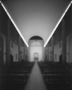 Chiesa Rossa - Franco Della Porta, Giovanni Muzio, stampa ai sali d'argento - Fotografia di Hiroshi Sugimoto